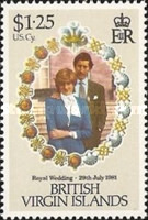 [Royal Wedding of Prince Charles and Lady Diana Spencer, type KZ]