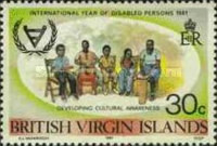 [International Year of Disabled Persons, type LG]