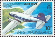 [The 10th Anniversary of the Airline AIR BVI, type LZ]