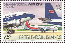 [The 10th Anniversary of the Airline AIR BVI, type MC]