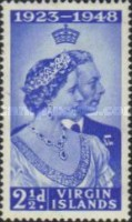 [Silver Wedding Anniversary - HM King George V and Queen Elizabeth, type P]