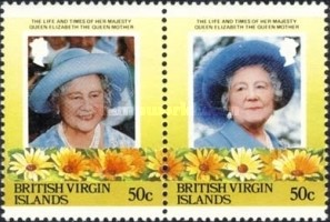 [The 85th Anniversary of the Birth of Queen Elizabeth The Queen Mother, 1900-2002, type PJ]