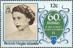 [The 60th Anniversary of the Birth of Queen Elizabeth II, type PW]