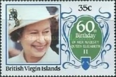 [The 60th Anniversary of the Birth of Queen Elizabeth II, type PX]