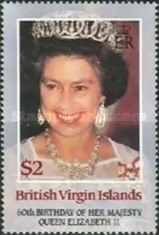 [The 60th Anniversary of the Birth of Queen Elizabeth II, type PZ]