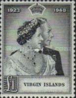 [Silver Wedding Anniversary - HM King George V and Queen Elizabeth, type Q]