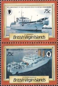 [The 20th Anniversary of Cable and Wireless in the British Virgin Islands, type QQ]