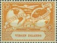 [The 75th Anniversary of the Universal Postal Union, type S]