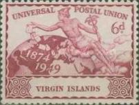 [The 75th Anniversary of the Universal Postal Union, type T]
