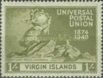 [The 75th Anniversary of the Universal Postal Union, type U]