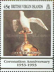 [The 40th Anniversary of the Coronation of Queen Elizabeth II, type ZB]