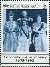 [The 40th Anniversary of the Coronation of Queen Elizabeth II, type ZC]