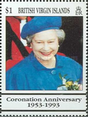 [The 40th Anniversary of the Coronation of Queen Elizabeth II, type ZD]