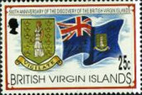 [The 500th Anniversary of the Discovery of the British Virgin Islands by Christopher Columbus, type ZH]