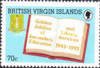 [The 50th Anniversary of Secondary Education and Library Services, type ZU]