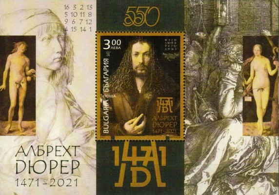 [The 550th Anniversary of the Birth of Albrecht Durer, 1471-1528, type ]
