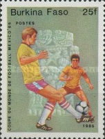 [Football World Cup - Mexico 1986, type Q]
