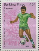 [Football World Cup - Mexico 1986, type R]