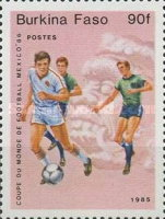 [Football World Cup - Mexico 1986, type S]