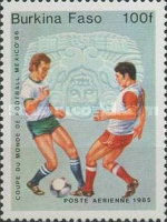 [Football World Cup - Mexico 1986, type T]