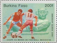 [Football World Cup - Mexico 1986, type V]