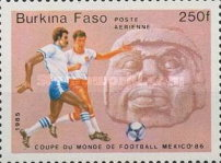 [Football World Cup - Mexico 1986, type W]