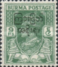 [No. 52-66 Overprinted, type AB2]