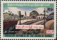 [The 100th Anniversary of Railway in Burma, Typ GI]
