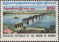 [The 100th Anniversary of Railway in Burma, Typ GJ]