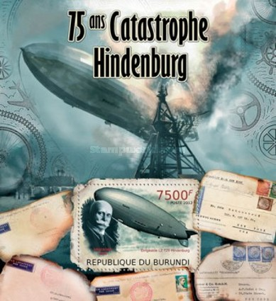 [The 75th Anniversary of the Hindenburg Disaster, Typ ]