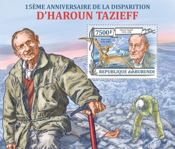 [The 15th Anniversary of Haroun Tazieff, Typ ]