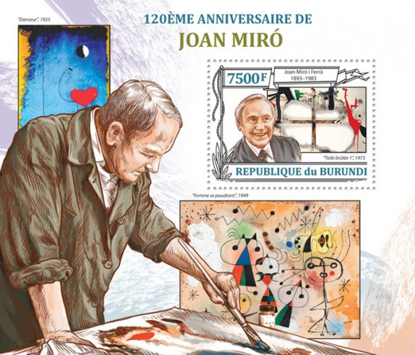 [The 120th Anniversary of Joan Miro, Typ ]
