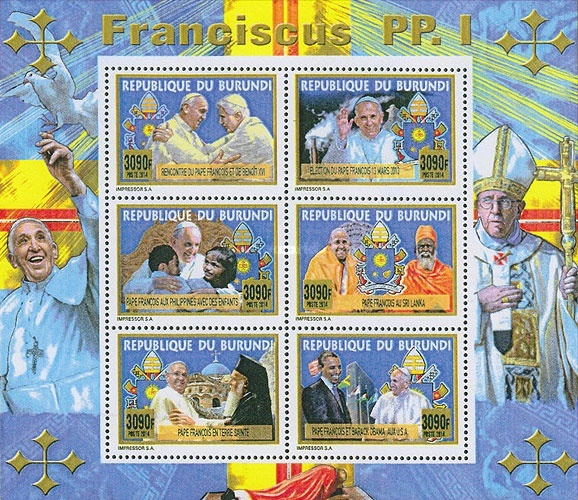 [Travels of Pope Francis, Typ ]