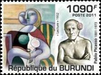 [Personalities - The 130th Anniversary of the Birth of Picasso, 1881-1973, Typ BRM]