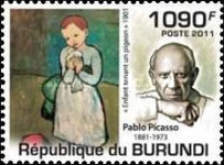 [Personalities - The 130th Anniversary of the Birth of Picasso, 1881-1973, Typ BRN]