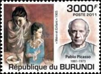 [Personalities - The 130th Anniversary of the Birth of Picasso, 1881-1973, Typ BRO]