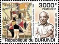 [Personalities - The 130th Anniversary of the Birth of Picasso, 1881-1973, Typ BRP]