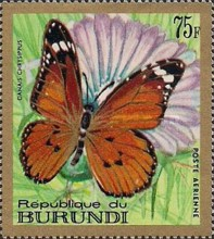 [Airmail - Butterflies, type LY1]