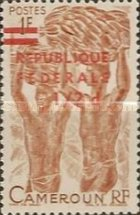 [Issues of 1956 and 1960 Overprinted