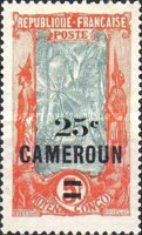 [Stamps of 1921 Surcharged, type F10]