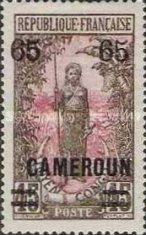 [Stamps of 1921 Surcharged, type F11]