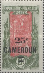 [Stamps of 1921 Surcharged, type F9]