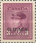 [King George VI & War Effort - Postage Stamps of 1942 Overprinted