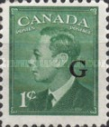 """[King George VI - Stamps of 1949 Overprinted """"G"""", type E]"""