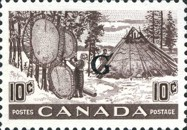 """[Stamps of 1946-1953 Overprinted """"G"""", type E10]"""