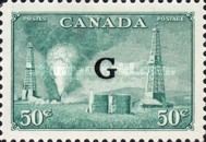 """[Stamps of 1946-1953 Overprinted """"G"""", type E14]"""