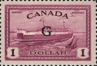 """[Stamps of 1946-1953 Overprinted """"G"""", type E16]"""
