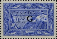 """[Stamps of 1946-1953 Overprinted """"G"""", type E17]"""