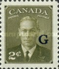 """[King George VI - Stamps of 1949 Overprinted """"G"""", type E2]"""
