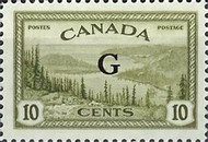 """[Stamps of 1946-1953 Overprinted """"G"""", type E8]"""